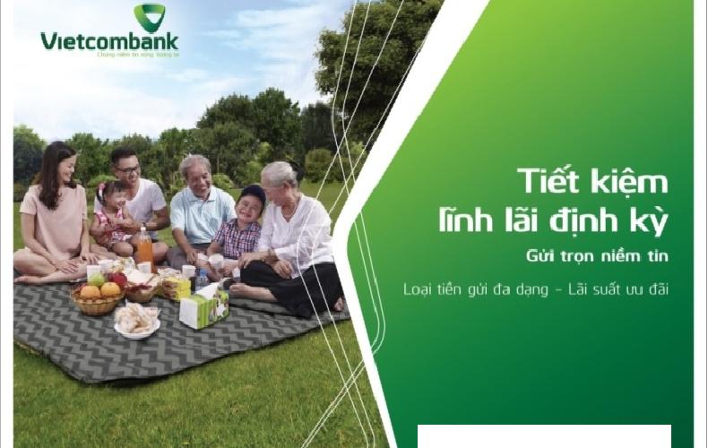 gửi tiết kiệm hàng tháng ngân hàng vietcombank