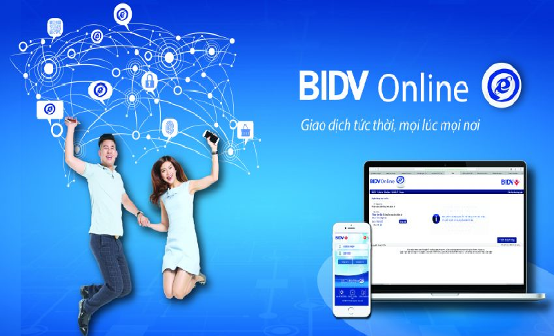 cách gửi tiết kiệm online của BIDV