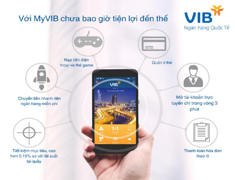 Gửi tiết kiệm online tại VIB