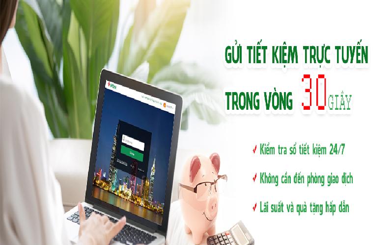 gửi tiền tiết kiệm online VPbank