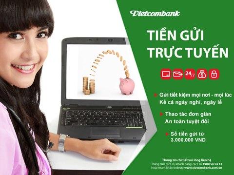 Hướng dẫn cách đăng ký mở tài khoản gửi tiết kiệm online Vietcombank ảnh 6