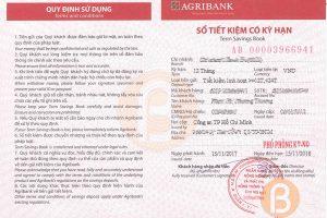 Hướng dẫn làm sổ tiết kiệm ngân hàng Agribank ảnh 3